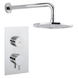 Crosswater - Dial Kai Lever 1 Control Shower Valve with Fixed Head & Arm