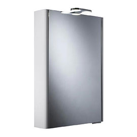 Roper Rhodes Phase Mirror Cabinet with Electrics - DN50WL