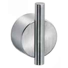 Dolphin - 25mm Bar Wall Hook - Satin Stainless Steel - DH485SS