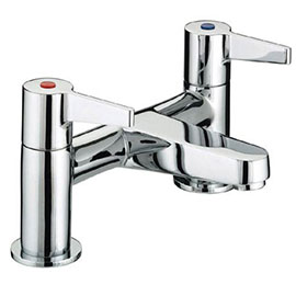 Bristan Design Utility Lever Bath Filler - DUL-BF-C