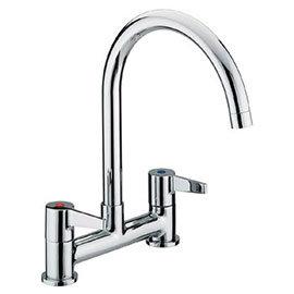 Bristan - Design Utility Lever Deck Kitchen Sink Mixer - DUL-DSM-C