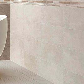 Duna Ivory Matt Wall Tile - 250 x 700mm