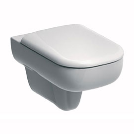 Twyford E500 Round Wall Hung Toilet