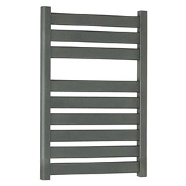 Bauhaus - Edge Flat Panel Towel Rail - Anthracite - 3 Size Options