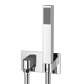 Milan Concealed Wall Outlet Elbow with Shower Handset