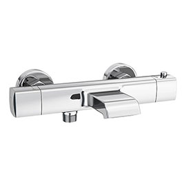 Montreal Wall Mounted Thermostatic Bath Shower Valve (Bottom Outlet)