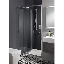 Crosswater - Edge Infold Shower Door - Various Size Options