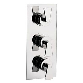 Crosswater - Essence Thermostatic Shower Valve with 3 Way Diverter - ES3000RC