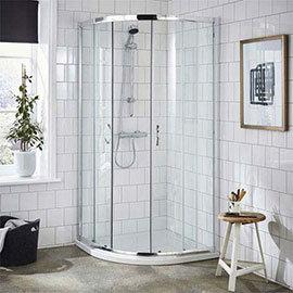 Ella Quadrant Shower Enclosure - 900 x 900mm - ERQ9 - Enclosure Only