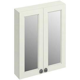 Burlington 60 2-Door Mirror Cabinet - Sand