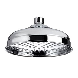 Bristan - 200mm Traditional Round Fixed Head - FH-TDRD02-C
