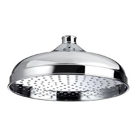 Bristan - 300mm Traditional Round Fixed Head - FH-TDRD03-C