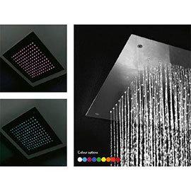 Crosswater Luxury Chromotherapy Fixed Showerhead - FHX380C
