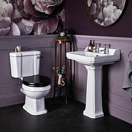 Bayswater Fitzroy Close Coupled Traditional Bathroom Suite