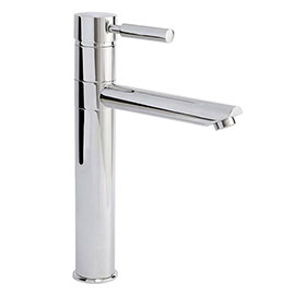Nuie Series 2 High Rise Mixer Tap with Swivel Spout - Chrome - FJ319