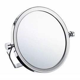 Smedbo Outline Travel Shaving/Make Up Mirror - Polished Chrome - FK443