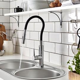 Bristan Gallery Flex Sink Mixer - GLL-FLEXSNK-C
