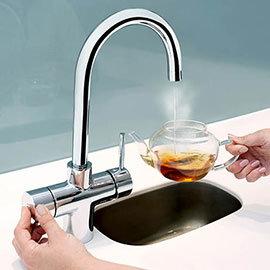 Bristan Gallery Rapid 3 in 1 Boiling Water Kitchen Tap Chrome - GLL-RAPSNK3-C