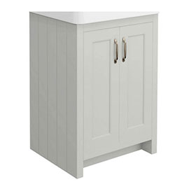 Chatsworth 560mm Grey Vanity Cabinet (excluding Basin)