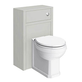 Chatsworth Traditional 500mm Grey Toilet Unit + Pan