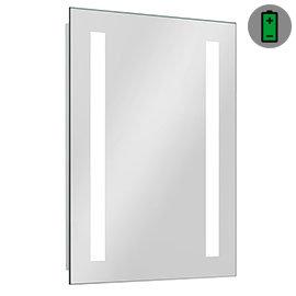 Brooklyn 500 x 700mm Battery Operated Illuminated LED Mirror