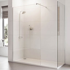 Roman Haven 8mm Corner Wetroom Panel