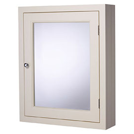 Roper Rhodes Hampton 565mm Mirror Cabinet - Vanilla