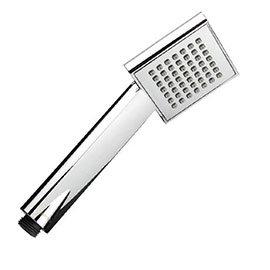 Bristan - Square Single Function Rub Clean Handset - HAND117-C