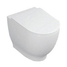 RAK Harmony Back to Wall Pan + Soft Close Urea Seat