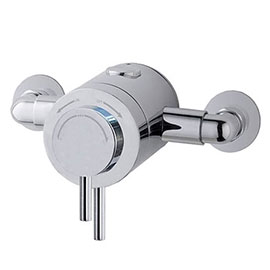 MX Options Petite Exposed Thermostatic Concentric Mixer Valve - HL8