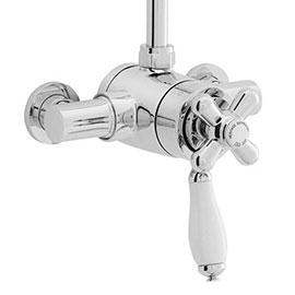 Heritage - Ryde Dual Control Exposed Mini Valve With Top Outlet - Chrome