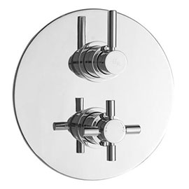 Hudson Reed Tec Twin Concealed Thermostatic Shower Valve - A3098