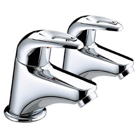Bristan Java Contemporary Bath Taps - Chrome - J-3/4-C