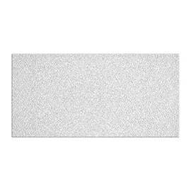 White Textured Satin Effect Wall Tiles - 600 x 300mm