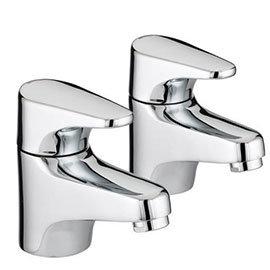 Bristan - Jute Bath Taps - Chrome - JU-3/4-C