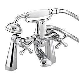 Bristan - Colonial Bath Shower Mixer - Chrome Plated - K-BSM-C