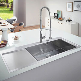 Grohe K1000 1.0 Bowl Stainless Steel Kitchen Sink