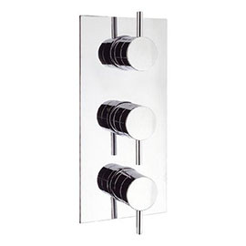 Crosswater - Kai Lever Triple Concealed Thermostatic Shower Valve - KL2000RC