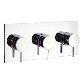 Crosswater - Kai Lever Triple Concealed Thermostatic Shower Valve - KL2001RC