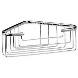 Chrome Deep Corner Basket - LL306