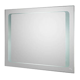 Hudson Reed Insight Motion Sensor Backlit Mirror + De-mister Pad - LQ019 Medium Image