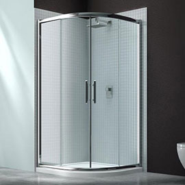 Merlyn 6 Series 900 x 900mm 2 Door Quadrant Shower Enclosure