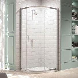 Merlyn 8 Series 900 x 900mm 1 Door Quadrant Enclosure