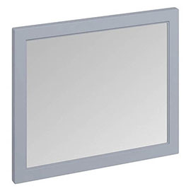 Burlington Framed 90 Mirror - Classic Grey