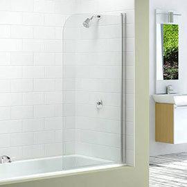 Merlyn Single Curved Bath Screen (800 x 1500mm)