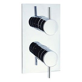 Crosswater - Fusion Thermostatic Shower Valve with 2 Way Diverter - MBFU1500RC
