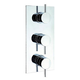 Crosswater - Fusion Triple Concealed Thermostatic Shower Valve - MBFU2000RC