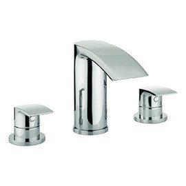 Adora - Flow 3 Tap Hole Bath Filler - MBFW330D