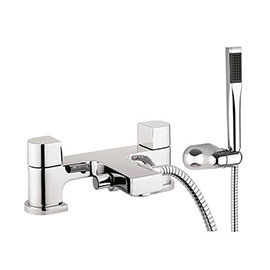 Crosswater - Planet Dual Lever Bath Shower Mixer with Kit - MBPS422D