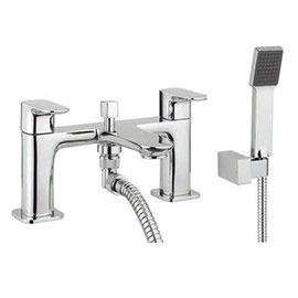 Crosswater - Serene Dual Lever Bath Shower Mixer with Kit - MBSN422D